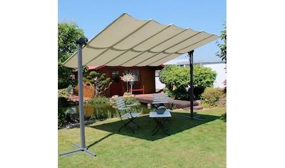 Leco Pavillon »Waved«, BxT: 250x350 cm, mit Sonnendach kaufen