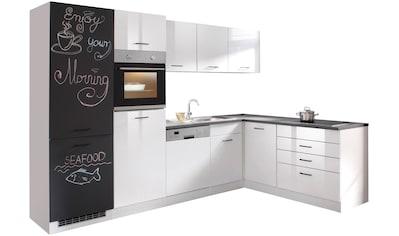 HELD MÖBEL Winkelküche »Trier«, mit E - Geräten, 290 x 190 cm kaufen