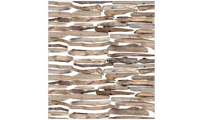 MySpotti Fensterfolie »Look Driftwood«, halbtransparent, glattstatisch haftend, 90 x... kaufen