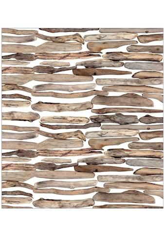 MySpotti Fensterfolie »Driftwood«, 90 x 100 cm, statisch haftend kaufen