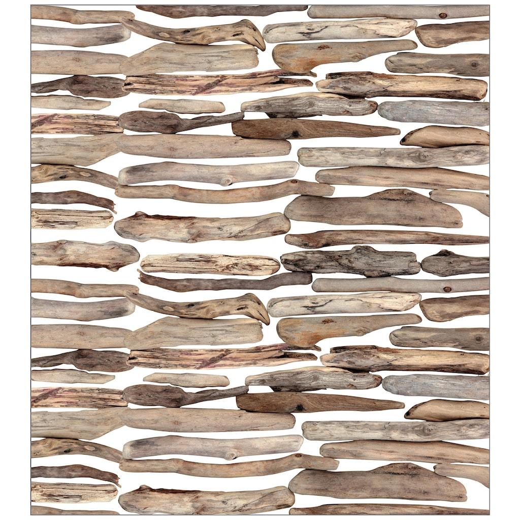 MySpotti Fensterfolie »Driftwood«, 90 x 100 cm, statisch haftend