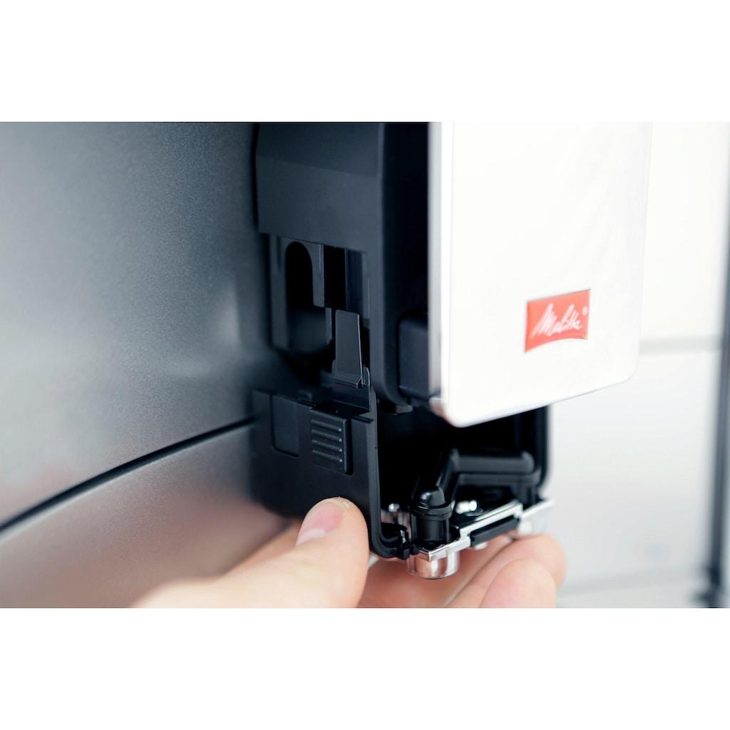 Melitta Kaffeevollautomat Barista T Smart F 83/0-101, silberfarben, 1,8l Tank, Kegelmahlwerk