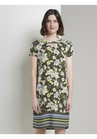 TOM TAILOR Sommerkleid »Gemustertes T - Shirt - Kleid« kaufen