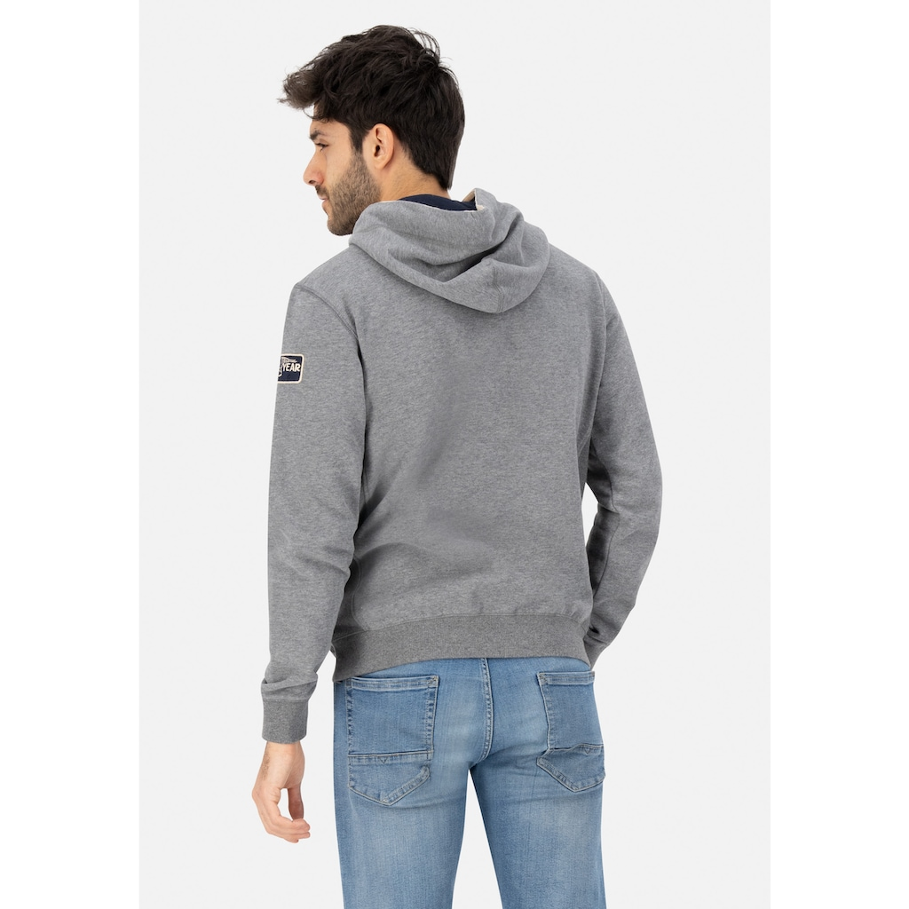 Goodyear Kapuzensweatshirt »OREGON«, mit coolem Front-Design