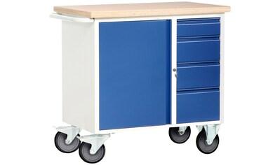 PROTAURUS Unbefüllter Werkstattwagen , mit waagerechtem Schiebegriff kaufen