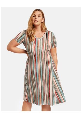 Samoon Kleid Gewirke »Shirtkleid mit Multicolor - Streifen« kaufen