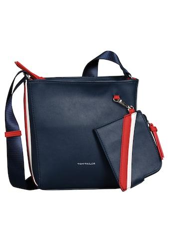 TOM TAILOR Umhängetasche »Isabel«, mit kleiner abnehmbaren Reißverschlusstasche kaufen