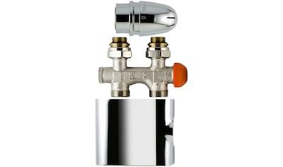 """SCHULTE Thermostat »Mittenanschlussgarnitur«, Set """"Durchgang"""", für Anschlussrohre aus dem Boden kaufen"""