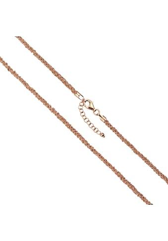 Vivance Collier »925-/ Silber 7-reihig rotvergoldet«, Collier kaufen