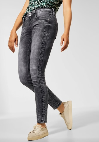STREET ONE Skinny-fit-Jeans »Crissi«, mit Waschung im Used-Look kaufen
