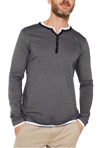 Esprit Langarmshirt, im Lagenlook kaufen