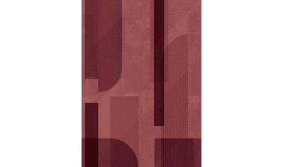 Fototapete »Retro«, Rosa, 280 cm x 200 cm kaufen