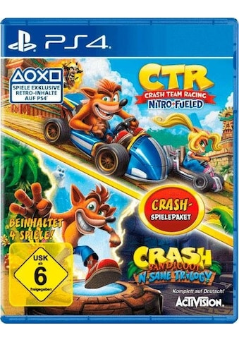 CTR Crash Team Racing Nitro Fueled + Crash Bandicoot N - Sane Trilogy PlayStation 4 kaufen