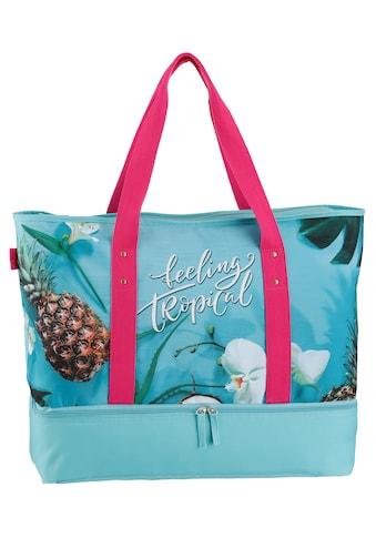 fabrizio® Strandtasche, mit Kühltaschenfach kaufen