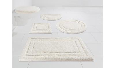 Kleine Wolke EXKLUSIV Badematte »Soho«, Höhe 30 mm, rutschhemmend beschichtet kaufen