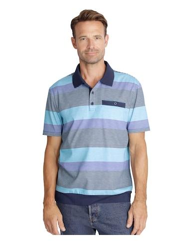 Classic Poloshirt im farbharmonischen Streifenmuster kaufen