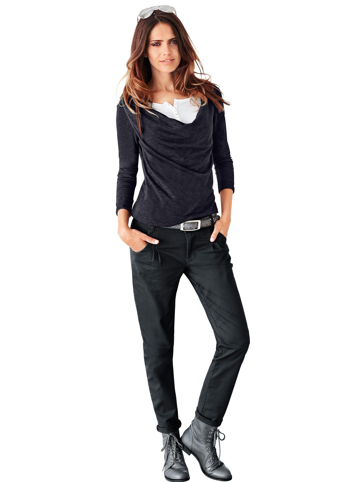 Classic Inspirationen 2-in-1-Shirt | Bekleidung > Shirts > 2-in-1 Shirts | Schwarz | CLASSIC INSPIRATIONEN