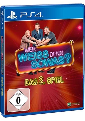 bitComposer Spiel »Wer weiß denn sowas? - Das 2. Spiel«, PlayStation 4, Software Pyramide kaufen