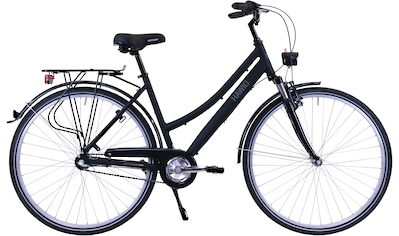 HAWK Bikes Trekkingrad »HAWK Citytrek Lady Premium Black«, 3 Gang Shimano Nexus Schaltwerk kaufen