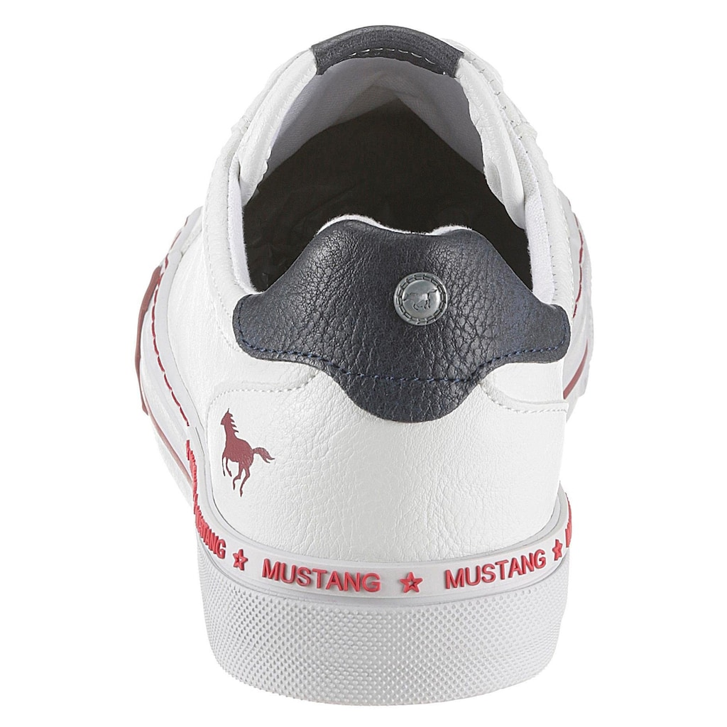 Mustang Shoes Sneaker, mit weich abgepolstertem Schaftrand