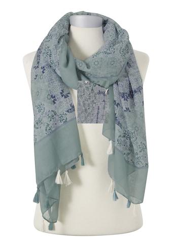 Schal mit sommerlichem Druck kaufen