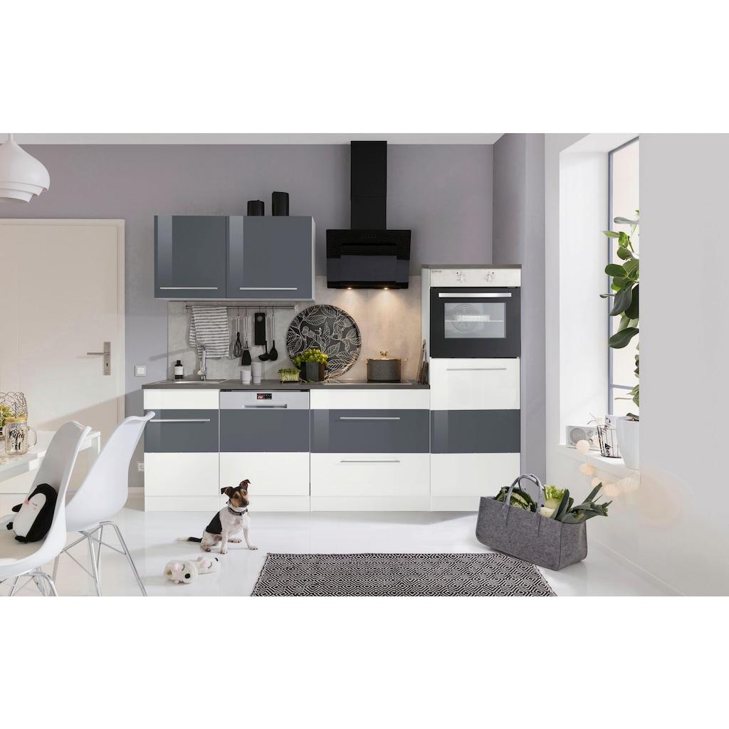 HELD MÖBEL Küchenzeile »Trient«, ohne E-Geräte, Breite 250 cm