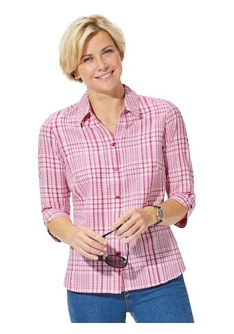 Casual Looks Bluse in strukturierter Seersucker - Qualität kaufen