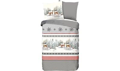 Wendebettwäsche »Wintertime«, good morning kaufen
