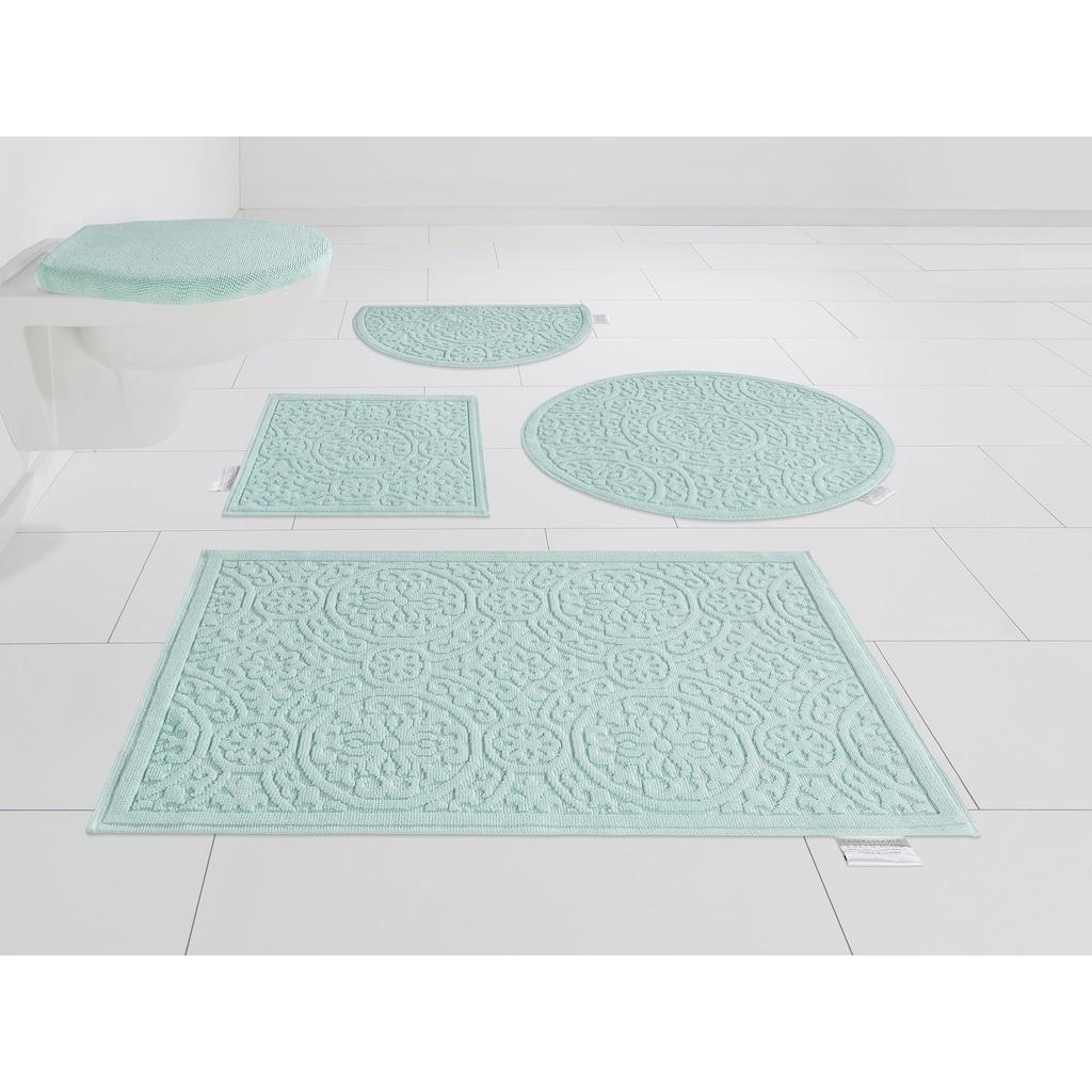 Guido Maria Kretschmer Home&Living Badematte »Garden Pastels«, Höhe 3 mm, fußbodenheizungsgeeignet, Pastell