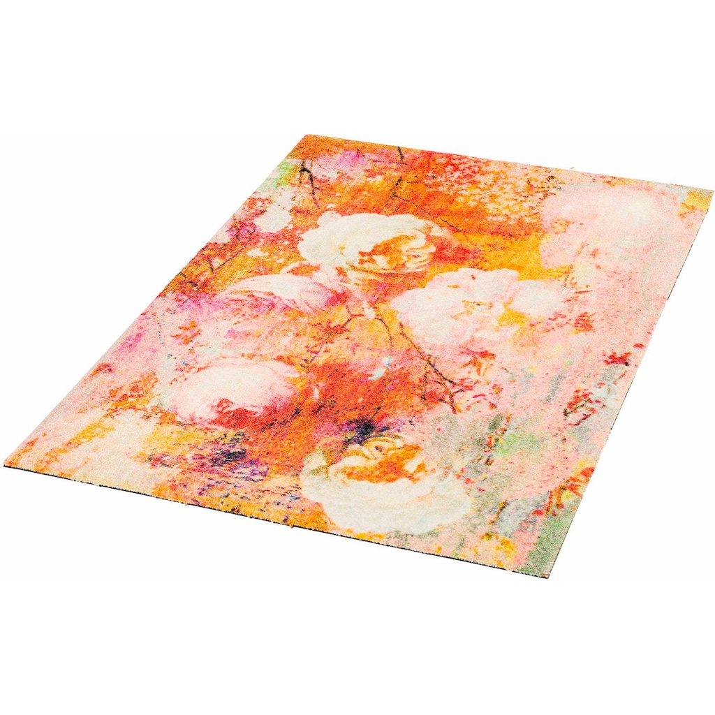 wash+dry by Kleen-Tex Läufer »Loving Rose«, rechteckig, 9 mm Höhe