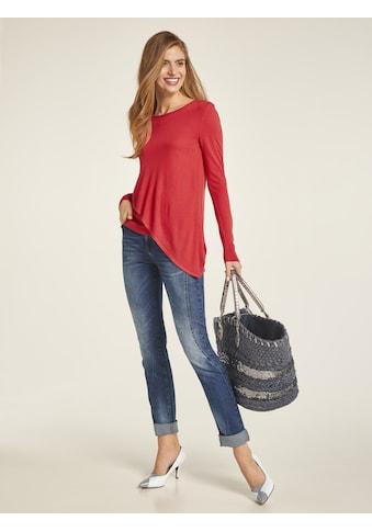 Bauchweg - Jeans Aleria mit Used - Effekt kaufen