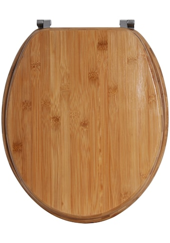 MSV WC-Sitz »BAMBUS«, Bambus kaufen