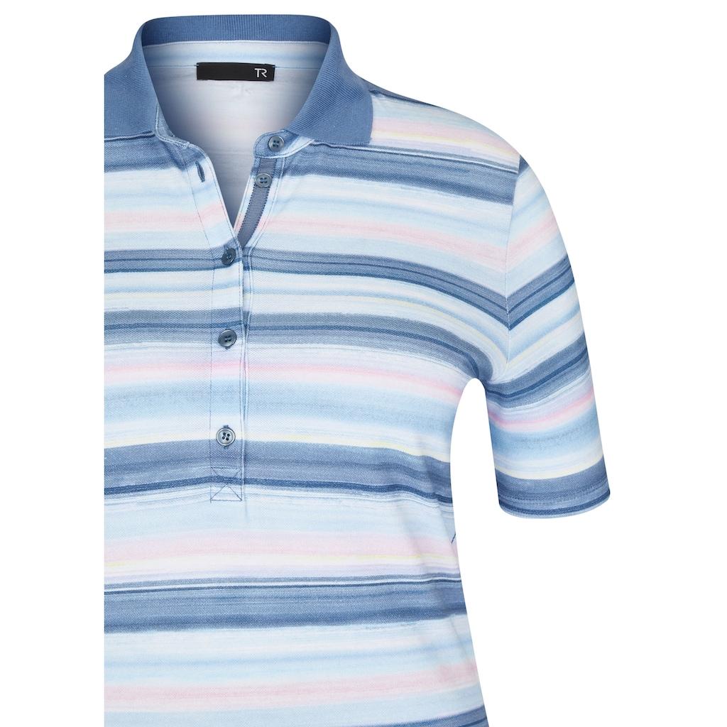 Thomas Rabe T-Shirt, mit Streifenmuster und Glitzersteinen