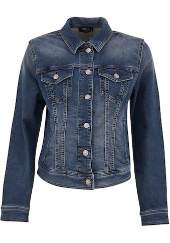 Love to be by LTB Jeansjacke, mit aufgesetzten Taschen und toller Waschung kaufen