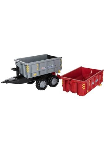 Rolly Toys Kinderfahrzeug-Anhänger, Abroll-Kipper mit 2 Containern kaufen