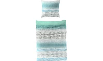 BIERBAUM Bettwäsche »Patterned Stripes«, 100 % Baumwolle kaufen