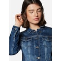 Mavi Jeansjacke, in angesagter Used-Waschung