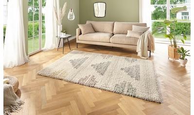 MINT RUGS Hochflor-Teppich »Sagar«, rechteckig, 35 mm Höhe, Wohnzimmer kaufen