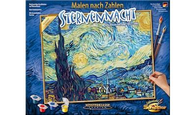 Schipper Malen nach Zahlen »Meisterklasse Premium - Sternennacht«, Made in Germany kaufen