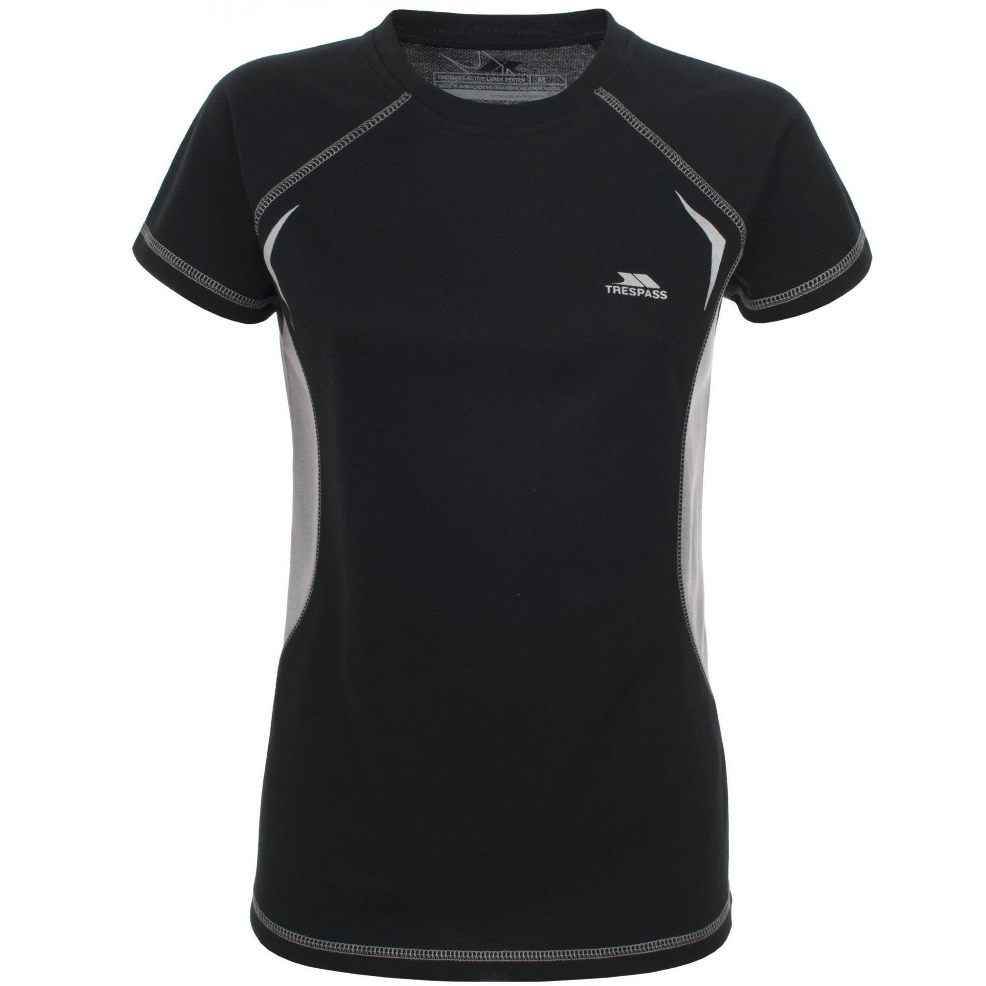 Trespass T-Shirt Damen Emmie Active Baselayer-Top kurzärmlig