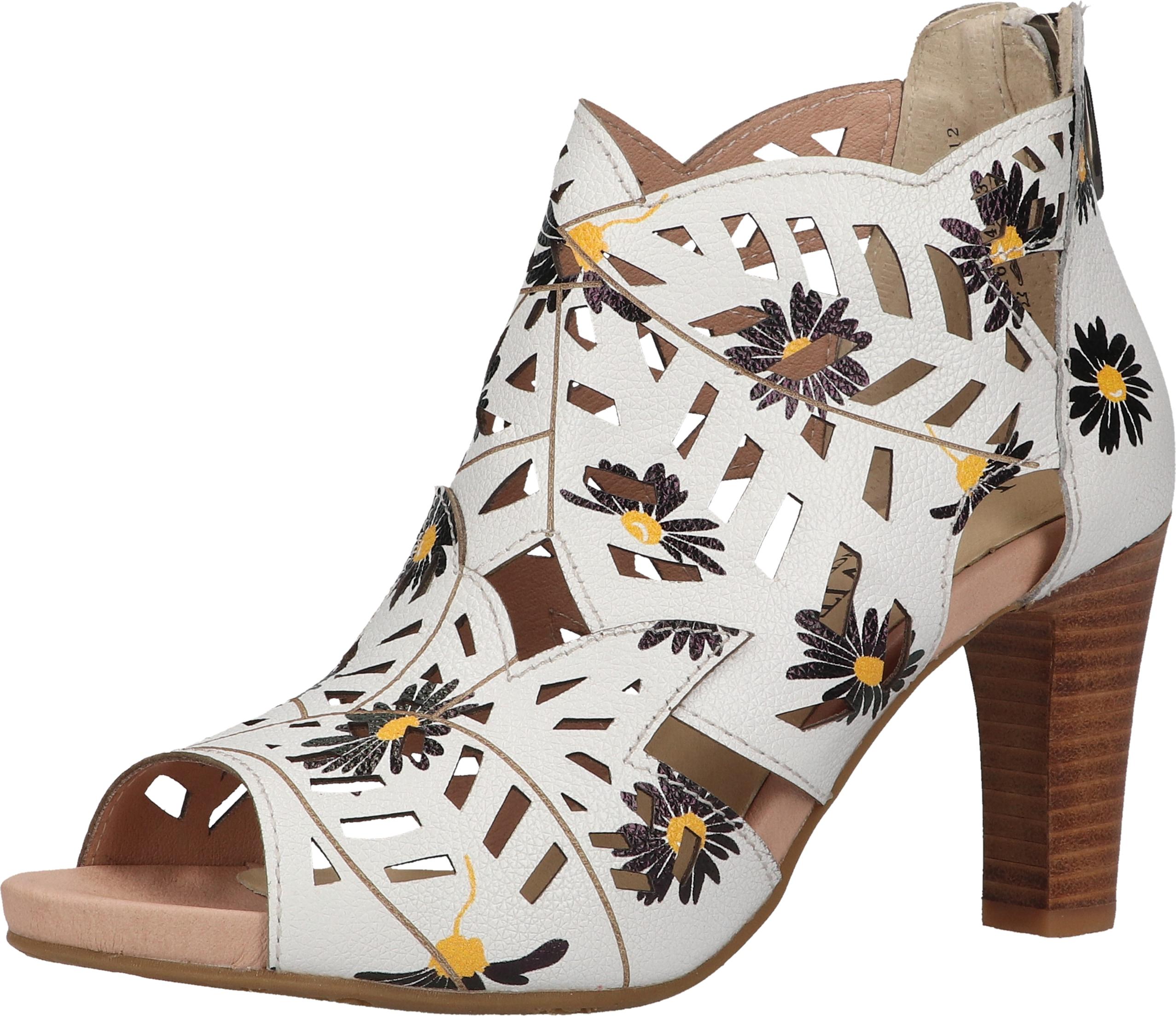 laura vita -  High-Heel-Sandalette Leder
