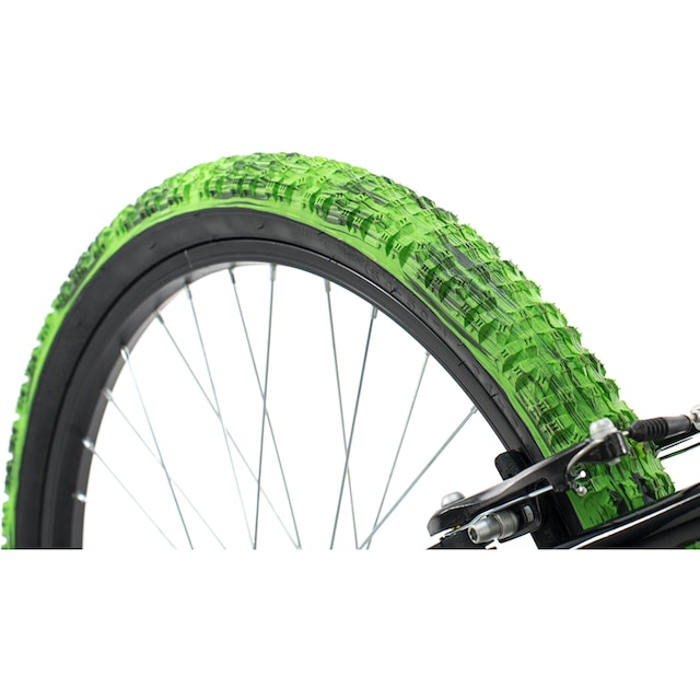 KS Cycling Jugendfahrrad »Crusher«, 6 Gang Shimano Tourney Schaltwerk, Kettenschaltung