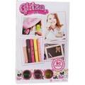 Knorrtoys® Kreativset »GLITZA Starter Set Cutie Bow«, (Set), Für alle Oberflächen geeignet