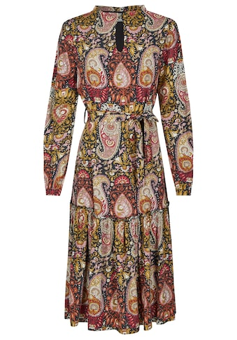Nicowa Knielanges Kleid mit Paisley - Muster  -  NICELO kaufen