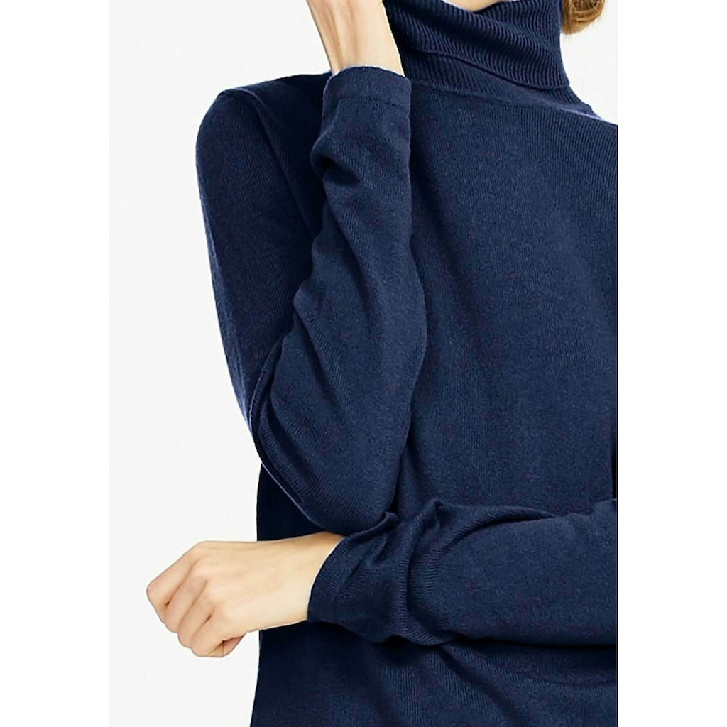 Peter Hahn Rollkragenpullover »aus 100% Premium-Kaschmir«, in leicht taillierter Form