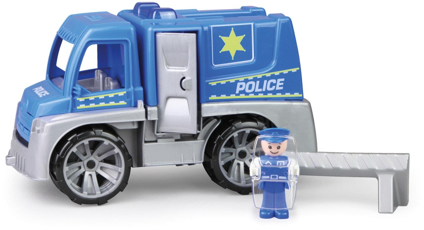 Lena Spielzeug-Polizei Truxx, Polizei Truck blau Kinder Ab 2 Jahren Altersempfehlung Spielzeugfahrzeuge