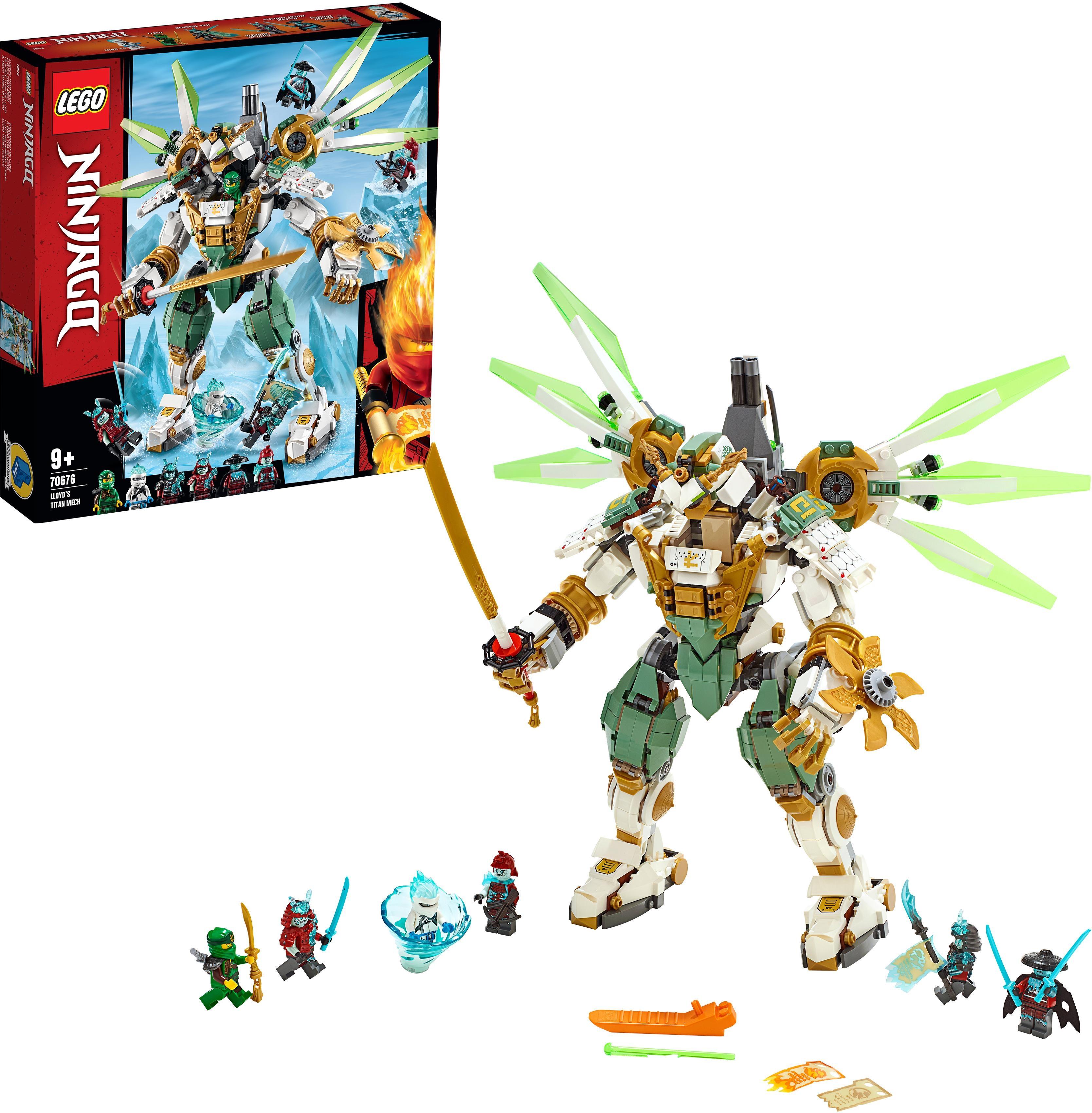 LEGO Konstruktionsspielsteine ´´Lloyds Titan-Mech (70676) LEGO NINJAGO´´ (876-tlg) Preisvergleich