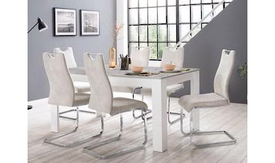 homexperts zabona essgruppe 1 tisch 4 stuhle kaufen