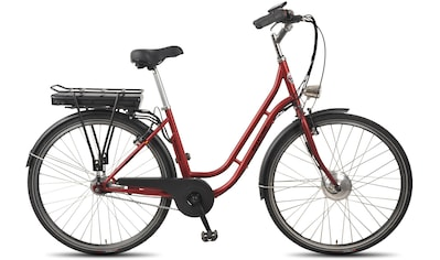ALLEGRO E-Bike »Boulevard Plus 03 Bordeaux«, 7 Gang, Shimano, Nexus, Frontmotor 250 W kaufen