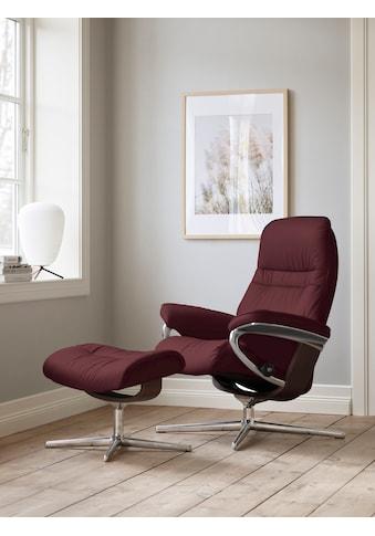 Stressless® Relaxsessel »Sunrise«, mit Cross Base, Größe S, M & L, Gestell Braun kaufen